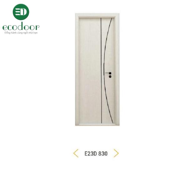Cửa gỗ nhựa Ecodoor E23D 830
