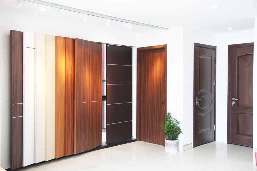Thi công cửa gỗ nhựa composite tại Bắc Giang - Báo giá 2020