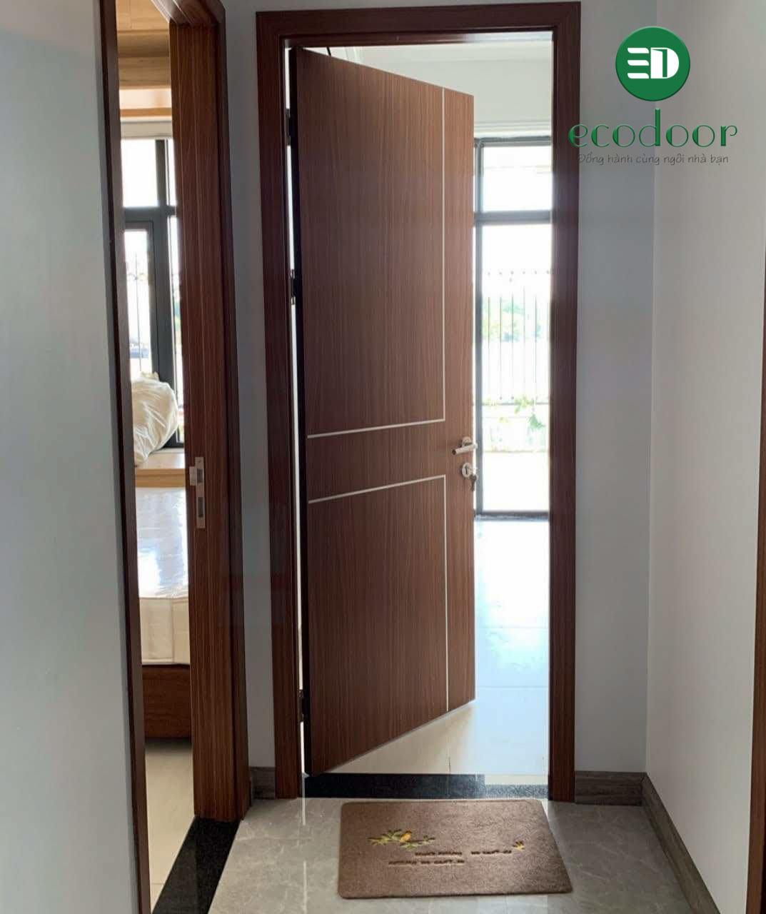 cửa nhựa nhà vệ sinh hà nội được Ecodoor thi công lắp đặt 2020