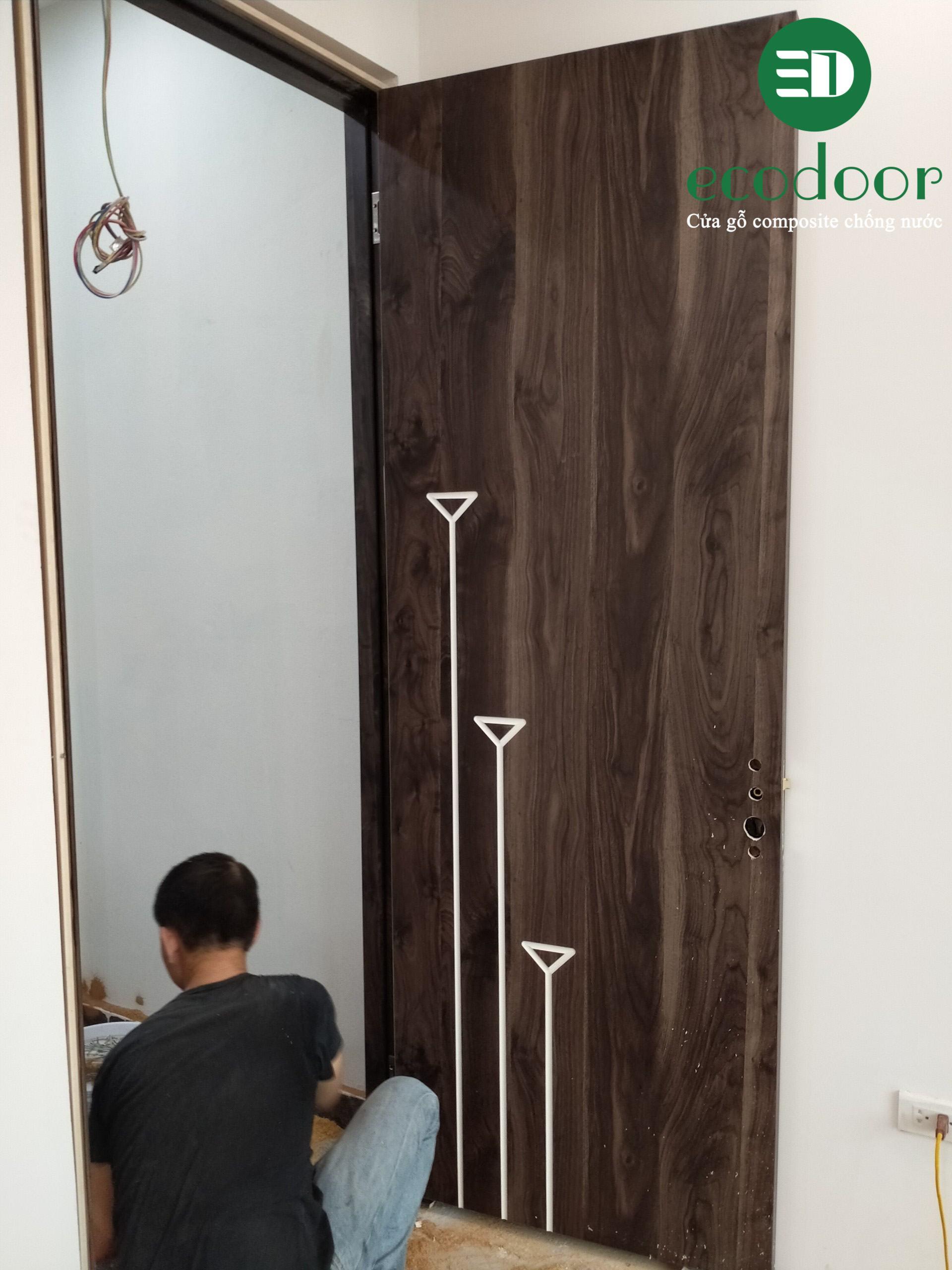 Thi công cửa nhựa composite Ecodoor