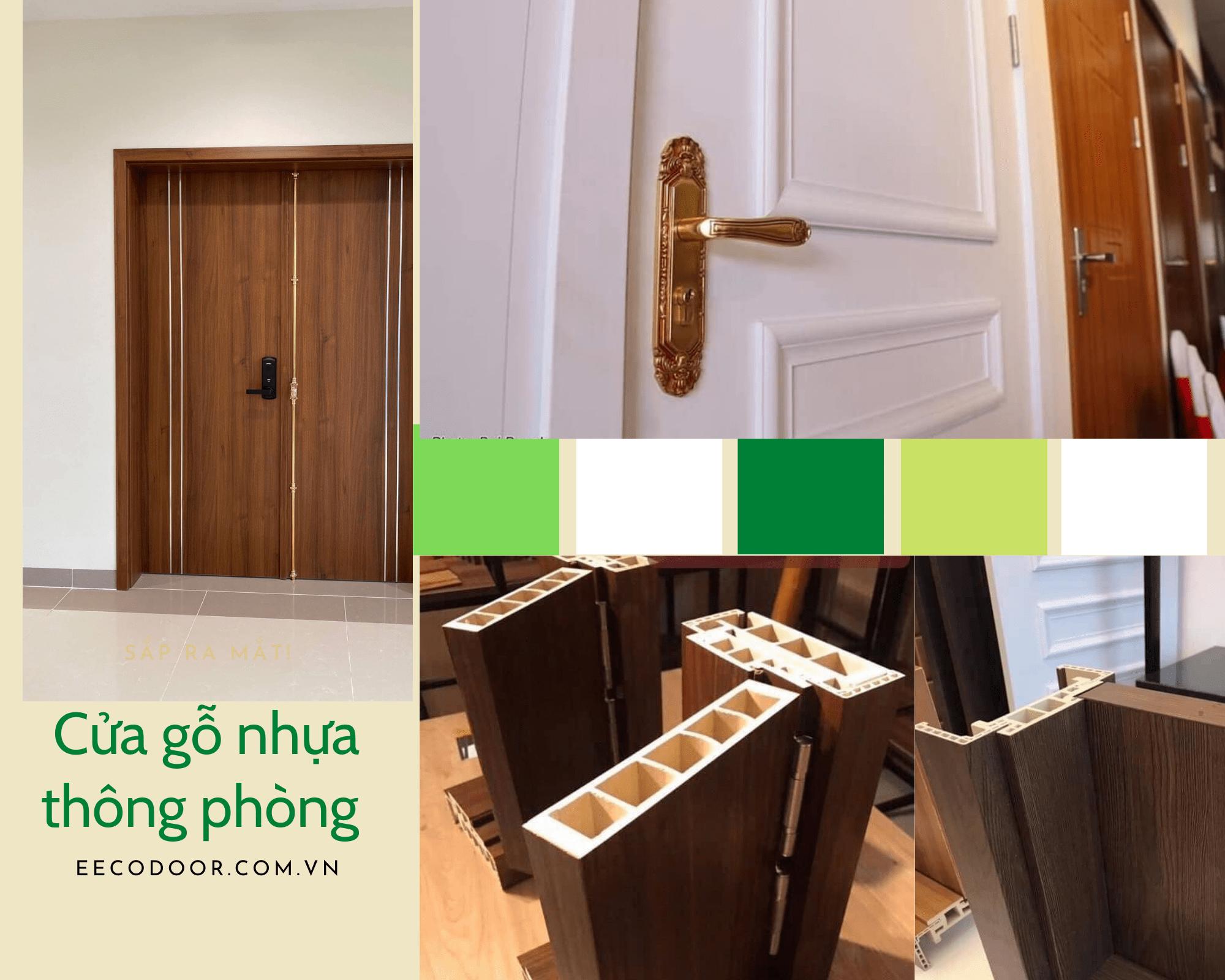 Ecodoor chuyên cung cấp các dòng cửa nhựa giả gỗ giá rẻ tại Hà Nội