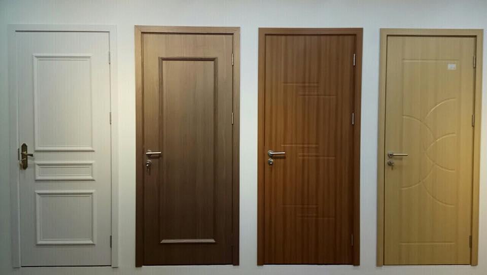 Cửa nhựa giả gỗ composite cho nhà vệ sinh