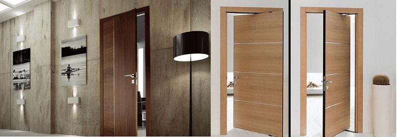 cửa gỗ công nghiệp là gì