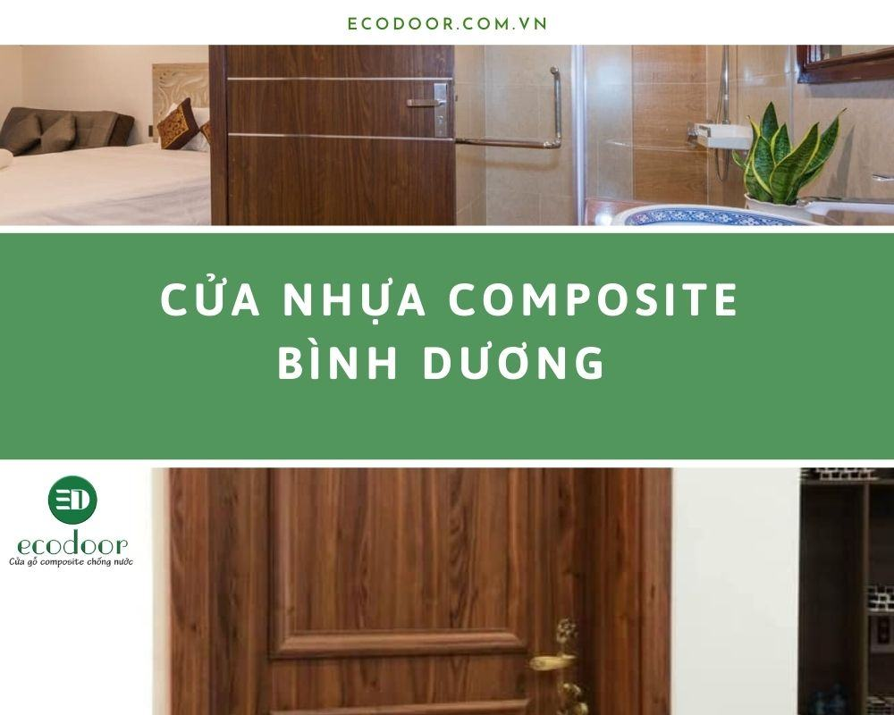 Ecodoor chuyên cung cấp các sản phẩm cửa nhựa composite tại Bình Dương