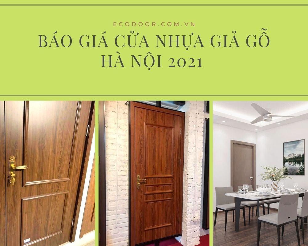 Cửa nhựa giả gỗ giá rẻ tại Hà Nội Ecodoor
